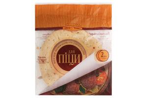 Полуфабрикаты для пиццы выпеченные с пряностями Київхліб м/у 2х0.15кг