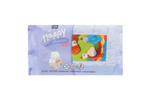 Серветки вологі Happy Baby Bella 64шт