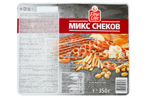 FL МIКС СНЕКIВ 350Г