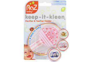 RaZ Baby Keep-It-Kleen Pacifier & Teether Holder