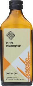 Олія обліпихи Лавка традицій холодного віджиму нерафінована, 200 мл