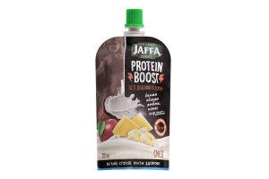Смузі фруктовий з сиром кисломолочним та сироватковим протеїном Protein Boost Jaffa д/п 120г