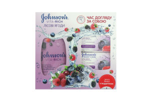 Н-р Johnson's Body Care Vita Rich Лесн ягоды+мыло