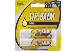 CareOne Lip Balm Original - 2 CT