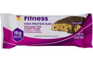 Ahold Fitness High Protein Bar Chocolate Chip Cookie Dough