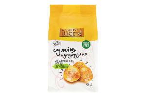 Суміш кукурудзяна для домашньої випічки і хліба World`s Rice м/у 700г