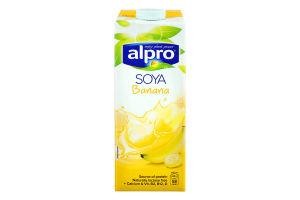 Напій соєвий Alpro Банановий т/б 1л Бельгія х8