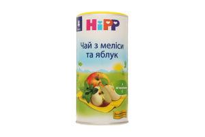 Чай для дітей від 4міс з меліси та яблук Hipp к/у 200г