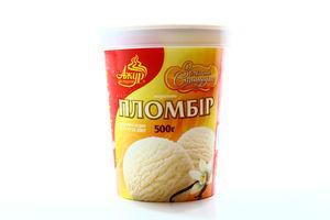 Мороженое Ажур Золотой Стандарт пломбир с аром ванили карт стак 500г