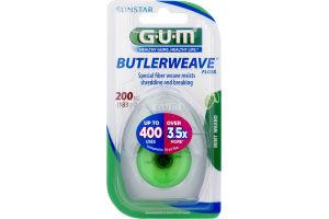 GUM Butlerweave Floss Mint Waxed