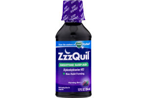 ZzzQuil Nighttime Sleep-Aid Warming Berry