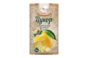 Сахар с цедрой лимона и имбирем Добрик к/у 180г