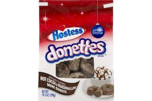 Hostess Donettes Hot Cocoa & Marshmallow Mini Donuts
