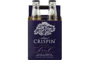 Crispin Natural Hard Apple Cider Brut - 4 PK