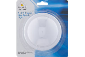 Smart Living 3 LED Round Mini Touch Light