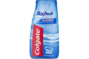 Colgate MaxFresh with Whitening Breath Strips Cool Mint