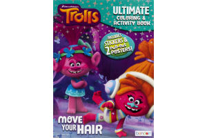 DreamWorks Trolls Ultimate Coloring & Activity Book