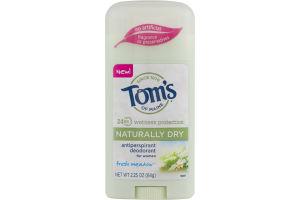 Tom's Of Maine Antiperspirant Deodorant for Women Fresh Meadow