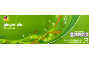 Ahold Ginger Ale Caffeine Free - 12 CT