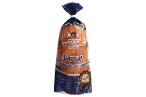Батон Нарезной обычный Салтівський хлібзавод м/у 0.35кг