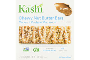 Kashi Chewy Nut Butter Bars Coconut Cashew Macaroon - 5 CT