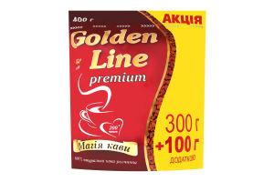 Кофе натуральный растворимый сублимированный Golden Line м/у 400г