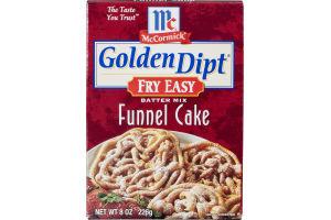 McCormick Golden Dipt Fry Easy Funnel Cake Batter Mix