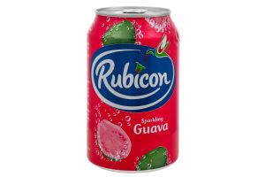 Напій Rubicon Guava Sparkling б/а с/г ж/б 330мл х4