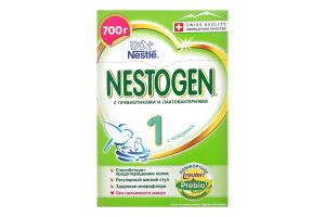Смесь молочная сухая для детей с рождения с пребиотиками и лактобактериями 1 Nestogen к/у 700г