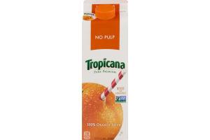 Tropicana 100% Orange Juice No Pulp