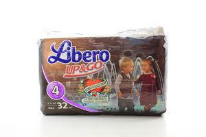Підгузки-трусики Libero Up&Go Maxi 7-11кг 32штх20