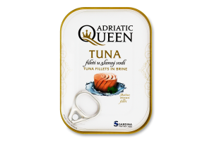 Тунець філе в розсолі Adriatic Queen з/б 105г