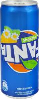 Напиток безалкогольный сильногазированный сокосодержащий Shokata Fanta ж/б 330мл