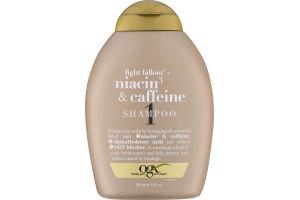 OGX Fight Fallout + Niacin 3 & Caffeine Shampoo