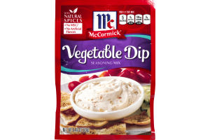 McCormick Seasoning Mix Vegetable Dip