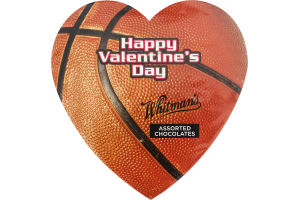 Whitman's Basketball Themed Valentine's Day Assorted Chocolates Box