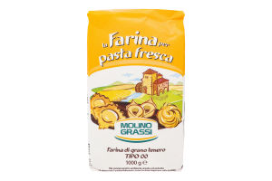Мука из мягких сортов пшеницы Pasta Fresca Molino Grassi м/у 1кг