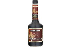 DeKuyper Creme De Cocoa Dark Liqueur