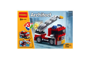 Іграшка Architect конструктор Спецтехніка 3в1 арт.3102 х6