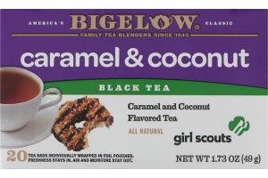 Bigelow Black Tea Caramel & Coconut - 20 CT