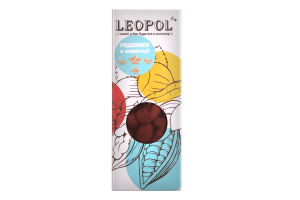 Изюм в молочном шоколаде без сахара Leopol' к/у 50г