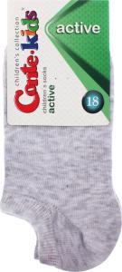 Шкарпетки дитячі Conte Kids №17C-63СП 18 світло-сірий