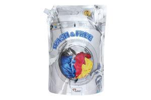 Гель для стирки универсальный Wash&Free 2кг