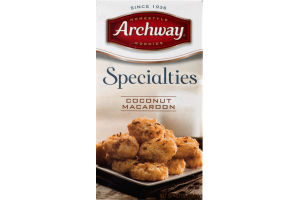 Archway Cookies Specialties Coconut Macaroon
