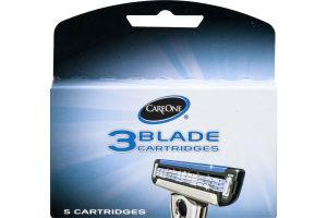 CareOne 3 Blade Cartridges - 5 CT
