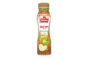 Йогурт 0.8% Злаки-яблуко Ферма п/пл 250г
