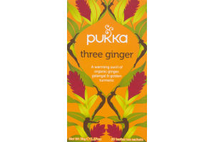 Pukka Tea Three Ginger - 20 CT
