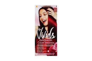 Крем-краска для волос Огненный бургунди The Vivids Color Sensation Garnier