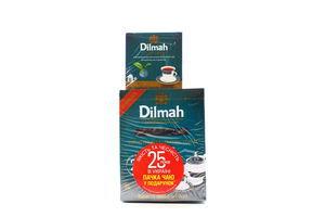 Чай черный крупнолистовой с бергамотом Dilmah 80г