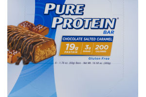 Pure Protein Bar Chocolate Salted Caramel - 6 CT